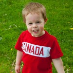 Toddler Style – Norton Gets Canadian (Thanks, Charlie Banana!)