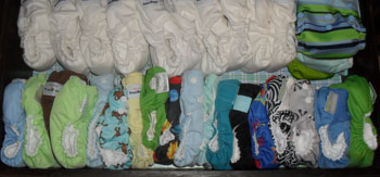 Can Your Cloth Diaper Stash Ever Become Too Big? (Cloth Diaper Addicts)
