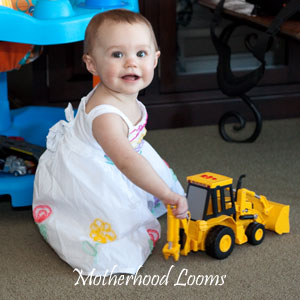 Wordless Wednesday – Construction Girl